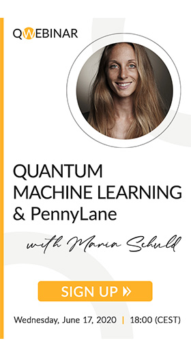 "QWebinar: ""Quantum Machine Learning and PennyLane"" by Maria Schuld"